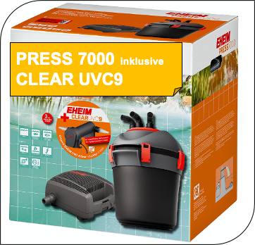 PRESS7000 inkl. CLEARUVC9