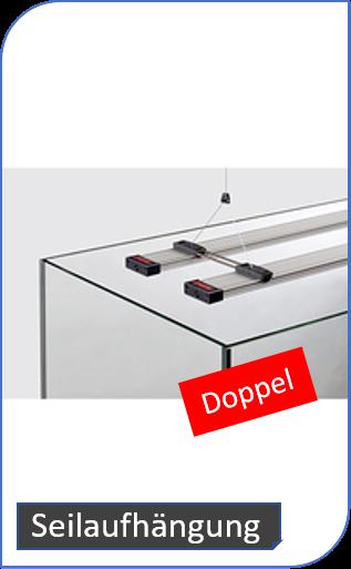 Doppelseilaufhängung für powerLED+